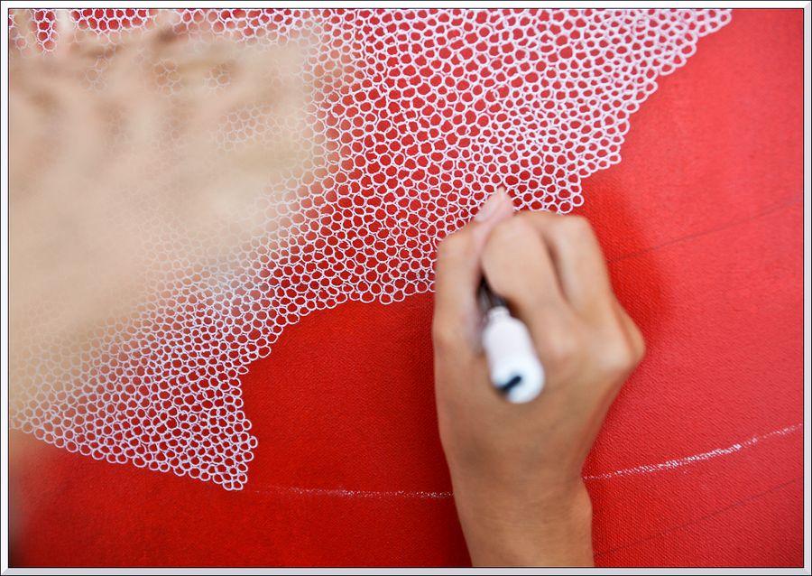 Jeanne peint 5cl blg